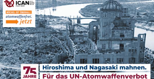 Gemeinsam gegen neue Atombomber und atomare Aufrüstung!