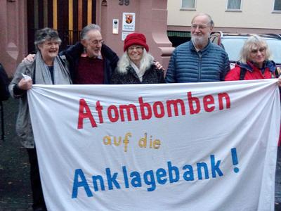 Atomwaffenstandort Büchel: 5 Senioren verurteilt!