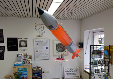 atomare Aufrüstung im Friedensmuseum?