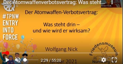 Wolfgang erklärt den Atomwaffenverbotsvertrag